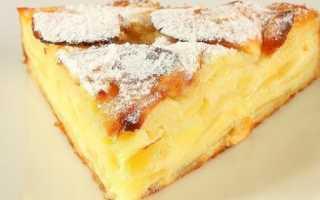 Воздушный пирог с яблоками – пошаговый рецепт с фото. Как приготовить