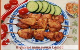 Куриные шашлычки по-азиатски – пошаговый рецепт с фото. Как приготовить