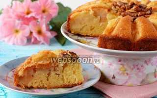 """Яблочно-ореховый пирог """"Цветок"""" – пошаговый рецепт с фото. Как приготовить"""