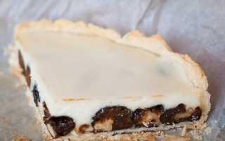 Пирог с черной сливой – пошаговый рецепт с фото. Как приготовить