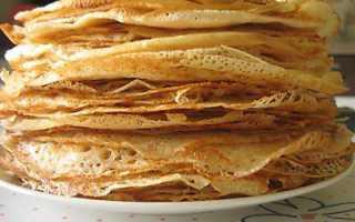 Кефирные блинчики с медом – пошаговый рецепт с фото. Как приготовить
