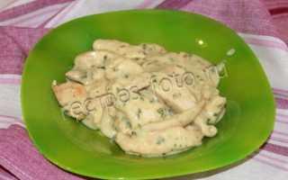 Куриная грудка с овощами в пряном молочном соусе – пошаговый рецепт с фото. Как приготовить