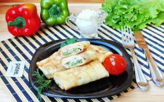 Блинчики остренькие с фасолью и грудинкой – пошаговый рецепт с фото. Как приготовить