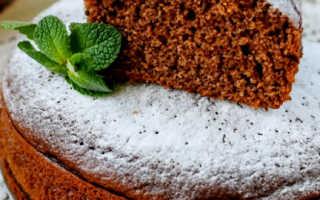 Манный пирог с кусочками шоколада – пошаговый рецепт с фото. Как приготовить