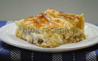 Курица с сыром в слоеном тесте – пошаговый рецепт с фото. Как приготовить