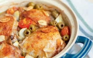 Курица с оливками – пошаговый рецепт с фото. Как приготовить
