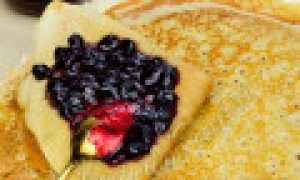 Заварные вегетарианские блины – пошаговый рецепт с фото. Как приготовить