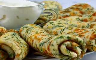 Сырные блины с зеленью – пошаговый рецепт с фото. Как приготовить