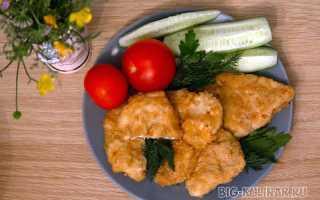 Куриная грудка в панировке – пошаговый рецепт с фото. Как приготовить