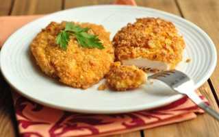 Жареная курица с корочкой из сухарей и сыра – пошаговый рецепт с фото. Как приготовить