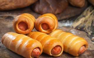 Сосиска в тесте пряная – пошаговый рецепт с фото. Как приготовить