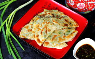 Китайские блины с зеленым луком – пошаговый рецепт с фото. Как приготовить