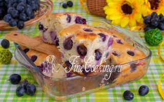 Пирог на сгущенном молоке с виноградом и кизилом – пошаговый рецепт с фото. Как приготовить