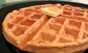 Вафли со сладким картофелем – пошаговый рецепт с фото – для вафельницы