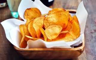 Картофельные чипсы с сушеной зеленью – пошаговый рецепт с фото. Как приготовить