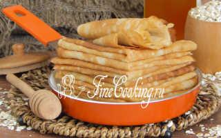 Овсяные блинчики со смородиновым сиропом – пошаговый рецепт с фото. Как приготовить