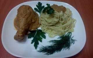 Курица в кабачковой икре – пошаговый рецепт с фото. Как приготовить