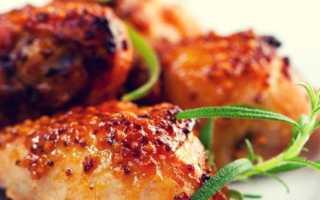 Куриные бедрышки под медово-горчичной корочкой – пошаговый рецепт с фото. Как приготовить
