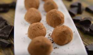 Трюфели с вишней и кешью – пошаговый рецепт с фото. Как приготовить
