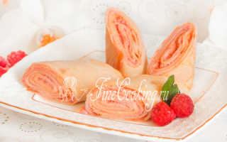 Блинчики со сливочным сыром – пошаговый рецепт с фото. Как приготовить