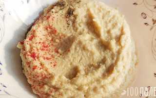 Густой хумус – пошаговый рецепт с фото. Как приготовить