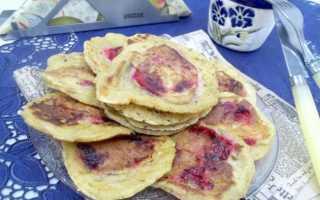Оладьи со сливой – пошаговый рецепт с фото. Как приготовить