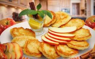 Оладушки с яблоком – пошаговый рецепт с фото. Как приготовить