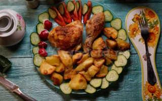 Куриные окорочка с картошкой и розмарином – пошаговый рецепт с фото. Как приготовить